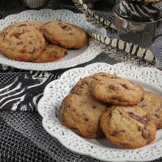 Chocolate Chip Maple Syrup Glazed Bacon Cookies