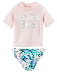 ❤️ Mealeaf ❤️ Kids Baby Girls Striped Strap Bikini Beach Swimsuit Bathing Swimwear Set Outfits(Red,70)