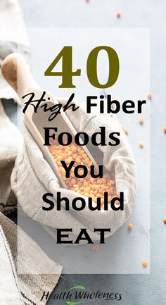 Fiber is an essential carbohydrate that your body needs to keep your bodily functions working correctly. While most carbohydrates are quickly broken down by your digestive system into sugar, Fiber passes through the body undigested. Fiber is excellent as it helps regulate the body's sugar levels. #fiberfoods #loseweight #fiberfoodrecipes #healthyliving #healthyfoodstoeat