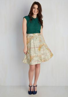 For the Mercator Good Skirt. Joy meets world when you don with cotton midi skirt, and when youre feeling this fab, your goodwill is bound to…