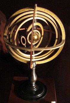 Sphère armillaire de Copernic - Jean pignon (vers 1725).