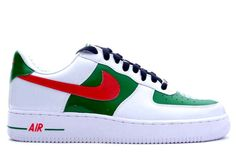 Nike Air Force One Mexico - I own these. Bought them when I was in Paris, lol.