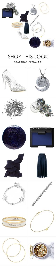 """""""Stars in a midnight sky"""" by alisafranklin on Polyvore featuring Fabulicious, Lauren B. Beauty, NARS Cosmetics, Johanna Ortiz, Mes Demoiselles..., Bling Jewelry, Halcyon Days, Jennifer Meyer Jewelry and In Your Dreams"""