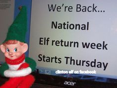 clinton is back for the christmas holidays