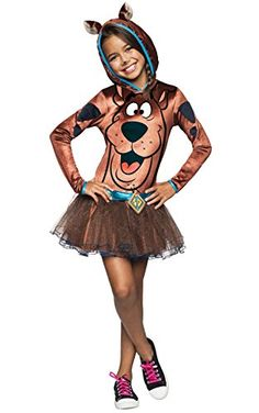 Rubies Costume Scooby Doo Child Hooded Tutu Costume Dress Costume Large >>> Check this awesome product by going to the link at the image.