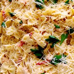 """Asiago Sun-Dried Tomato Pasta 