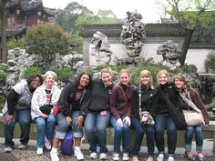 Tri-S  offers students opportunities to travel the world like this School of Nursing trip to China.