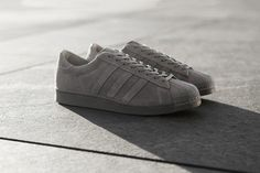2ef8ec431 The adidas Consortium Superstar Metropolis juxtaposes soft suede uppers  with a gruff concrete look in this limited edition run.