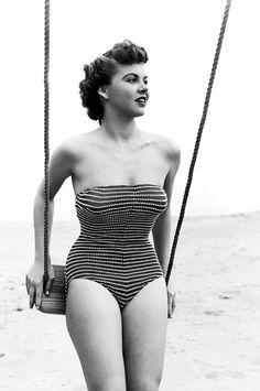 #vintage #1950s #beach #summer #swimsuit