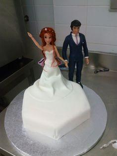 Bolo casamento #cakedesign    #work #estagio #noivos #gostopelaarte