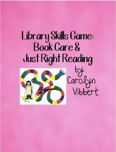 Library Skills Game: