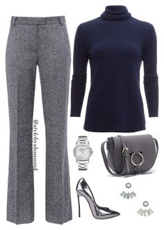 """""""women's fashion"""" by stylebyshannonk ❤ liked on Polyvore featuring Barbara Bui, White + Warren, Casadei, Aéropostale and Chopard"""