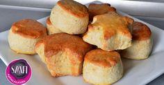 Tejfölös-túrós pogácsa (gluténmentes, laktózmentes, cukormentes)