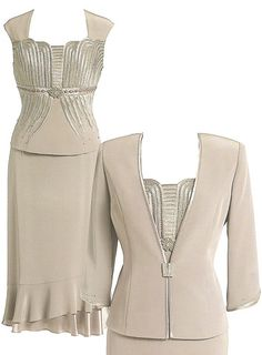 Skirt Suit 14 | Isabella Fashions | Mother of the bride dresses, plus sizes, and evening wear