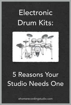 Electronic Drum Kits: 5 Reasons Your Studio Needs One… Drum Lessons, Lessons Learned, Your Music, Music Is Life, Audio Post Production, Music Production, Ableton Live, Good Tutorials, Drum Kits