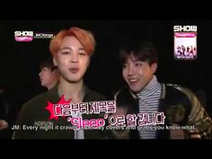 [FAKE SUBS] 151212 BTS Show Champion Backstage - YouTube