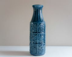 Mid Century Bay West Germany Ceramic Vase collectable home decor