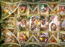 http://www.vatican.va/various/cappelle/sistina_vr/   This is so cool. You can zoom in closely to all parts of the Sistine Chapel.