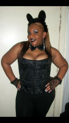 Ebony halloween costume