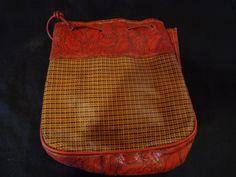 1940's Vintage handbag. Plastic. by vintagewayoflife on Etsy, $65.00