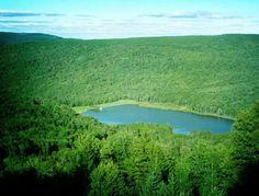 Lake at Snowshoe Mountain Resort WV
