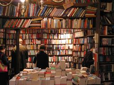 Any place with wall to wall books