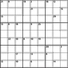702 best sudoku variations images on Pinterest in 2018