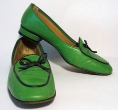 From my preppette days (pre-hippie) -- I had some like these with colors reversed.