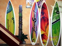 Decoraci n de tabla de surf en pinterest dormitorios - Tabla surf decoracion ...