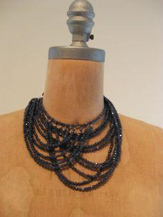 Brunello Cucinelli necklace, Fall 2013