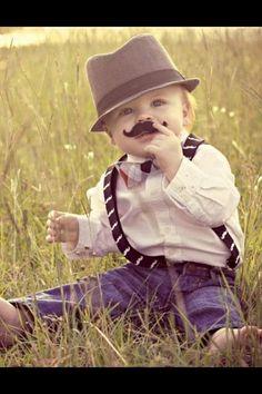 Mustache bash 1st birthday