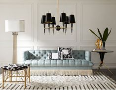 Potter, designer, and author Jonathan Adler is on a mission to bring Modern American Glamour to homes across the globe. We speak to this icon of modern interior style and finds out why fearlessness is his best interior style advice… Jonathan Adler, Living Room Interior, Living Room Furniture, Living Room Decor, Furniture Stores, Hall Interior, Furniture Nyc, Furniture Movers, Cheap Furniture