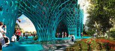 Iran Pavilion-Expo Milan 2015   New Wave Architecture (Lida Almassian / Shahin Heidari)   Archinect