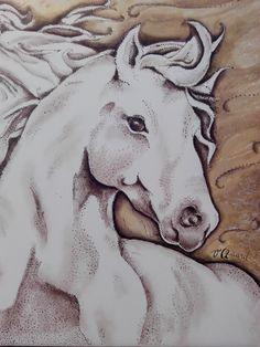Pintado a mano sobre placa ceramica (diseño propio) Moose Art, Animals, Animales, Animaux, Animais, Animal
