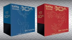Pokemon XY Xerneas/Yveltal Elite Trainer Box
