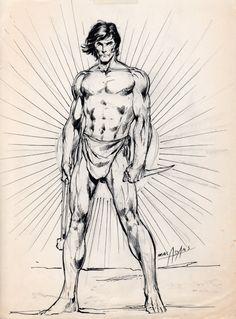 Neal Adams Tarzan sketch