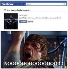 Darth Vader Friend Request