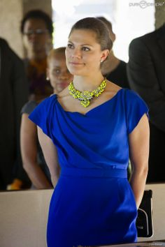Princess Victoria spent her last day in Tanzania. Program: a hospital visit and seminar on youth entrepreneurship.