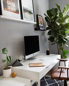 Scandi style, Home office Home Office Shelves, Home Office Organization, Home Office Desks, Office Decor, Industrial Home Offices, Modern Home Office Furniture, Home Office Lighting, Scandi Style, Scandinavian Home