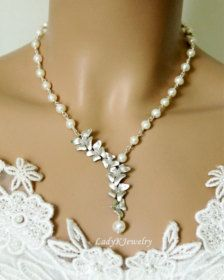 Wedding Jewelry: Necklaces, Earrings, Bracelets & More - Page 4