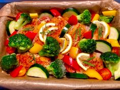 Vegetable Pizza, Salmon, Food And Drink, Health Fitness, Fish, Recipes, Blog, Christmas, Diet