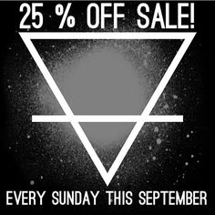 FLASH SALE! Starting at midnight tonight   Use the code: SEPTEMBER3 to get 25% off EVERYTHING in the Schard range for a whole 24 hours.  #follow #love #instagood #cute #voucher #photooftheday #happy #tagsforlikes #beautiful #girl #coupon #alchemy #smile #fashion #earth #instadaily #like #instalike #igers #amazing #bestoftheday #style #instamood #life #pretty #instasize #cool #beauty #discount #sale