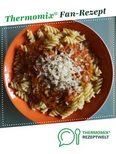 Fast lens bolognese from janeholz. A Thermomix ® recipe from the category other main dishes www.de, the Thermomix ® community. Paleo Meal Plan, Easy Meal Prep, Easy Meals, Paleo Diet, Seafood Recipes, Crockpot Recipes, Vegetarian Recipes, Healthy Recipes, How To Eat Paleo