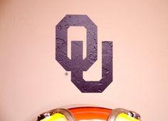 OU Logo - Wall Decal - University of Oklahoma
