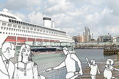 Greenwich is set to join New York, Hawaii and the Caribbean as a cruise ship destination after plans for a huge dock were approved.