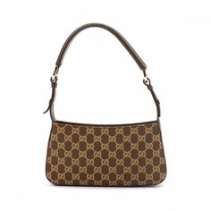 52cda2a3cee The authenticity of this vintage Gucci shoulder bag is guaranteed by  LXRandCo.