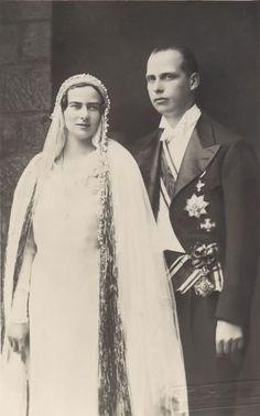 Archiduque Anton de Austria & Princesa Ileana de Rumania