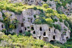 Visiting the necropolis of Pantalica near Syracuse, Sicily
