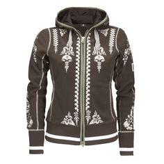 Bogner Golf Hokulani Fleece Jacket (Womens) - TRUFFLE