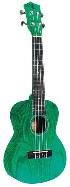 Eddy Finn® Natural Ash Concert Ukulele